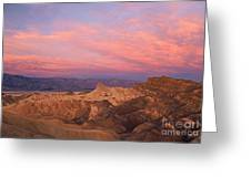 Colorful Mountains Greeting Card
