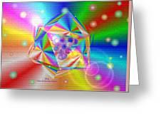 Colorful Mural Greeting Card