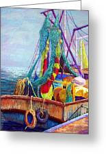 Colorful Nets Greeting Card