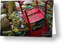 Colorful Pile 1 Greeting Card