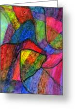 Colorful Refractions Greeting Card