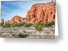 Colorful Rock Formations In Kodachrome Basin State Park, Utah Greeting Card