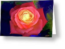 Colorful Rose 2 Greeting Card
