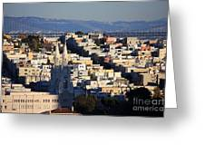 Colorful San Francisco Greeting Card