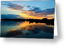 Colorful Serenity Greeting Card