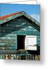 Colorful Shack Greeting Card