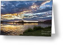 Colorful Snake River Greeting Card