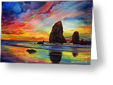Colorful Solitude Greeting Card