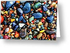 Colorful Stones I Greeting Card