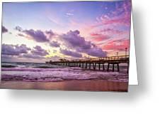 Colorful Sunrise Greeting Card