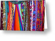 Colorful Tapestries Greeting Card