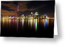 Colorful Toronto Greeting Card