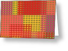 Colorful Weave Greeting Card