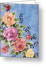 Colorfull Roses Greeting Card