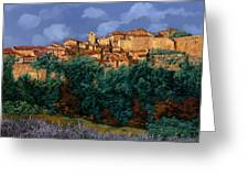 colori di Provenza Greeting Card