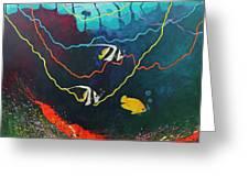 Colorida Naturaleza Greeting Card