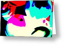 Colors 3 Greeting Card