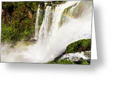 Colors Above The Water Greeting Card