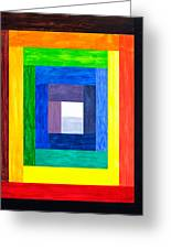 Colors Into One Greeting Card