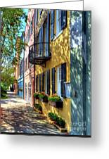 Colors Of Charleston 5 Greeting Card by Mel Steinhauer