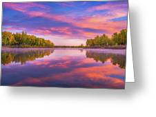 Colors Of Chatfield Greeting Card