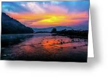 Colors Of Dawn Greeting Card
