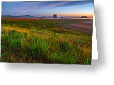 Colors Of Iowa  Greeting Card
