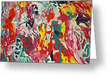 Colors Of Life Greeting Card