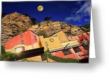 Colors Of Liguria Houses - Facciate Case Colori Di Liguria 3 Greeting Card