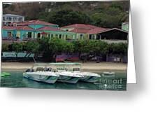 Colors Of St. John Us Virgin Islands Greeting Card