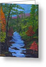 Colors Of The Blue Ridge Greeting Card