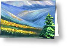 Colors Of The Mountains 2 Greeting Card