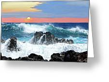 Colors Of The Ocean Greeting Card
