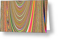 Colors Of The Orbs Greeting Card