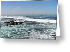 Colors Of The Sea Greeting Card