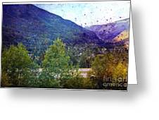 Colors Of Vail Greeting Card