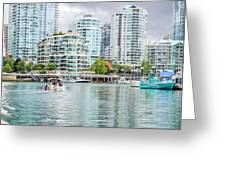 Colors Of Vancouver Greeting Card