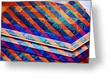 Colors Play Greeting Card