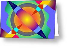Colorscape 1-5 Greeting Card