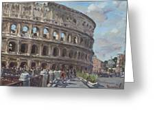 Colosseo Rome Greeting Card