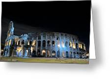 Colosseum By Night II Greeting Card