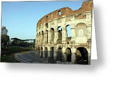 Colosseum Early Morning Greeting Card