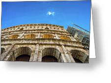 Colosseum Perspective Greeting Card