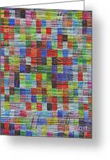 Colour Square 2 Greeting Card