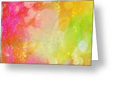 Colour Sugar Greeting Card