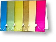 Colourful Blind Greeting Card
