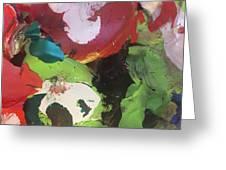 Colourful Wasteland Greeting Card