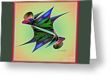 Colours 4 Greeting Card
