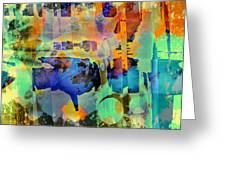 Colours Greeting Card