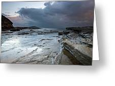 Colours Of A Storm - Seascape Greeting Card